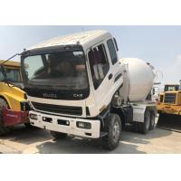 China ISUZU 2012 Isuzu Concrete Mixer Truck Used With 115-800L Reclaiming Capacity on sale