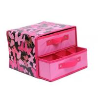 Best Eco-friendly Foldable Double Drawer Storage Boxes odm-v10 wholesale
