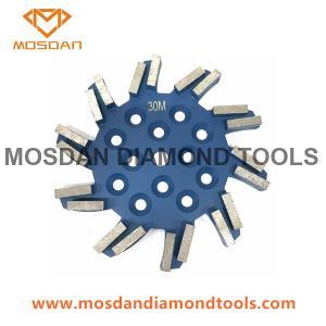 Best 10 Inch 250mm 20 Seg Diamond Floor Grinding Plate for Small Grinders wholesale