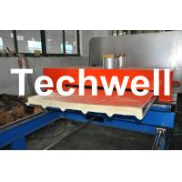 Best PU Insulated Cold Roll Forming Machine For Making Sandwich Panels wholesale