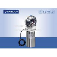 Buy cheap DN10-DN300 Sanitary level butterfly valves with positioner and position sensor from wholesalers