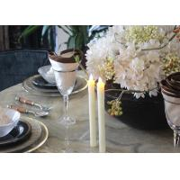 Best Fashionable Led Taper Candles , Flameless Taper Candles With Remote wholesale