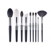 Best Complete Handmade Natural Hair Makeup Brush Set Durable Copper Ferrule wholesale