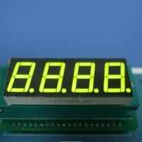 China 4X7 Segment Led Display Common Cathode Seven Segment Display Green 0.56 on sale