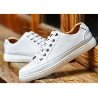 Best Customized Leisure Comfortable Trendy Shoes Popular White Leather School Shoes wholesale