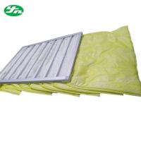 Best Medium Pocket Air Filter , Washable F8 Air Bag Filter Hvac Duct Cleaning wholesale