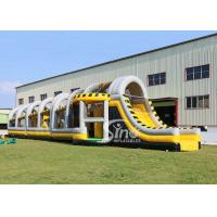Best 24m long big challenge adults inflatable obstacle course for boot camp or keeping fit made in Sino Inflatables wholesale
