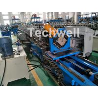 Best 0-15m/Min Forming Speed Hat Channel Cold Forming Machine For Raw Material GI , Carbon Steel wholesale