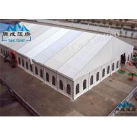 Best Outside Rot Proof Large Party Tents , Colorful Cover Church Tents For Donation wholesale