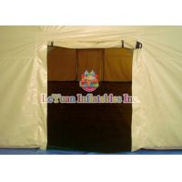 Cheap Large Tent Inflatable for Group Camping Event , High Tarpaulin Closed Air Tent for sale