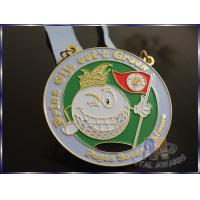 Waterproof Youth Football Medals , Custom Graduation Medals Imitation Gold Plating
