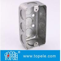 Best TOPELE 58351 / 58361 / 58371 Galvanized Steel Box Rectangular Handy Box Utility Box wholesale