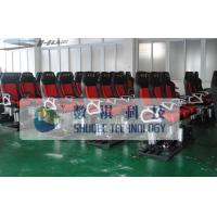 Best 4D Motion Movie Theater Chair With Hydraulic Control System wholesale