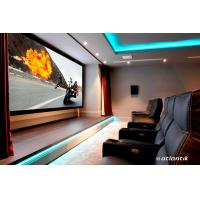 Buy cheap Aluminum Frame 16:9 HDTV Wall Mount Fixed Frame Screen For Home Cinema from wholesalers