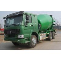 Best SINOTRUK HOWO 6X4 Green Concrete Mixer Trucks wholesale