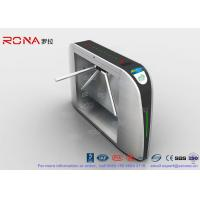 Best Enhance Control Waist High Turnstiles 500mm Arm Length Intelligent Transportation System wholesale