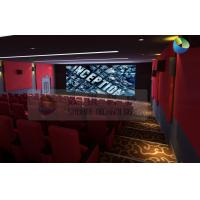 Best Popular 3D Cinema System With Red Comfortable Seats And Latest 3D Films wholesale