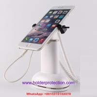 Best COMER Retail Display Alarm plastic Stand for Mobile Phone with High Security Gripper wholesale