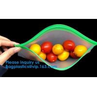 Buy cheap Biodegradable Plastic Frosted Peva Zipper Bags,Durable Environmentally Friendly from wholesalers