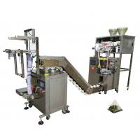 China Nylon Triangle Tea Bag Sealing Machine , 220V Tea Powder Packing Machine on sale