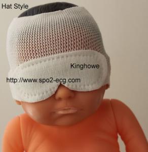 Best Hat Style Neonatal Phototherapy Eye Mask Resist Blu Light OEM ODM Service wholesale