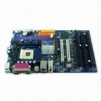 Buy cheap ATX Motherboard with Three ISA Slot and Two COM, Supports Pentium 4 and Celeron from wholesalers
