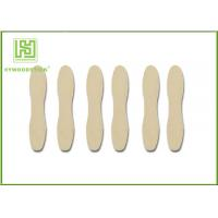 Best Short Natural Wood Sticks Non - Flavor With CIQ Certificated Smooth Surface wholesale