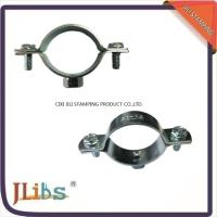 Best 18mm-200mm Size Galvanized Pipe Clamps Plumbing Clamps Brackets Standoff Pipe Clamps wholesale