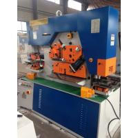 Best CE Approved Q35Y Hydraulic Iron Worker Machine To Section Bar Punching wholesale