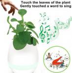 Best Music Flower Pot K3 Portable Bluetooth Speaker Changeable Colors DC 5V LED Smart Lights wholesale