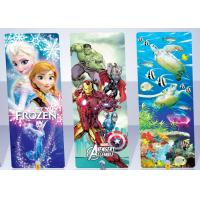 China Promotional Plastic PP 3D Personalized Book Marks 3D Animal Bookmarks on sale