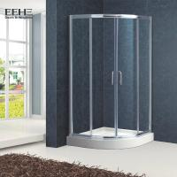 Best Polished Full Tempered Glass Shower Enclosure For Bath Good Insulating Properties wholesale