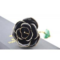 Best 24K pure gold rose , hand made gold plated rose for Valentine's day wholesale