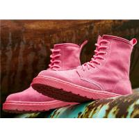 Best European and American fashion Ankle Length Boots full leather Martin boots for women wholesale