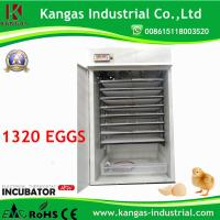 Best CE Certificate Fully Automatic 176 Egg Incubator for Quail Eggs (KP-4) wholesale