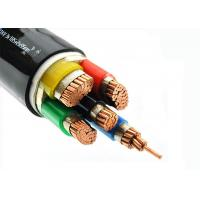 Best Cu - Conductor 5 Core Heat Resistant Cable , LSZH Power Cables Unarmoured wholesale
