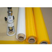 Best Low Elasticity 102 Inch Polyester Bolting Cloth , 110 Mesh Screen For Ceramics Printing wholesale
