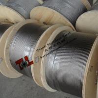 304 7x7 1mm Stainless Steel Wire Rope with Weight 4kg per 1000m sZ