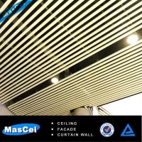 Best Tube Aluminum False Baffle Ceiling/ Office Screen Ceiling wholesale