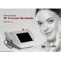 Best Radio Frequency Micro Needle Machine 80W Power Restoring Skin Elasticity wholesale