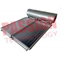 Best 300L Flat Plate Collector Solar Water Heater / Thermal Hot Water Heater Direct Plug Connection with 2 Collector wholesale