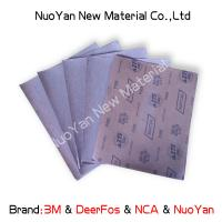 Best Metal 1000 Grit Wet Or Dry Sandpaper Aluminium Oxide  Silicon Carbide Coated wholesale