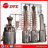Best 250gal customized Copper Alcohol Distiller Distillation Equipment for vodka gin used wholesale