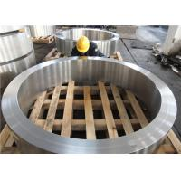 Best DIN 34CrNiMo6 Hot Rolled  Forged Steel Rings Hardness 30HRC - 40HRC Customized , Round Steel Blanks wholesale