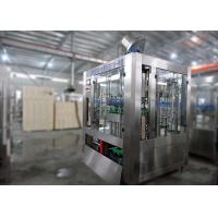 China Carbonated Beer Filling Machine Blotting Equipment 4000BPH Capacity Compact Structure, on sale