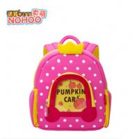 Best Lovely Pumpkin Angel Design Kids Hiking Backpacks , Fashion School Bags With Dots wholesale