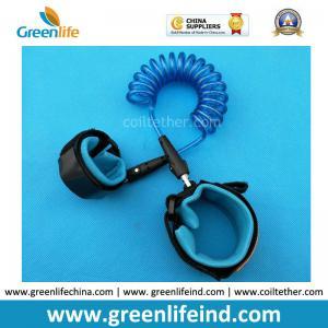 Best Losting Protection Baby Walking Safety Felxi Elastic Blue Lanyard Tether wholesale