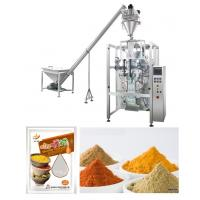 Best Corn / Wheat / Turmeric Powder Packing Machine With PLC Control wholesale