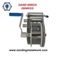 Quality Hand Winch 2000kg Strap/Webbing/ Rope 3speed- Boat Car Marine Trailer wholesale