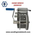 Best Hand Winch 2000kg Strap/Webbing/ Rope 3speed- Boat Car Marine Trailer wholesale